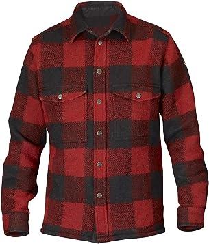 Fjällräven Canada - Camisa para hombre, estilo leñador Red (320) Talla:medium: Amazon.es: Deportes y aire libre