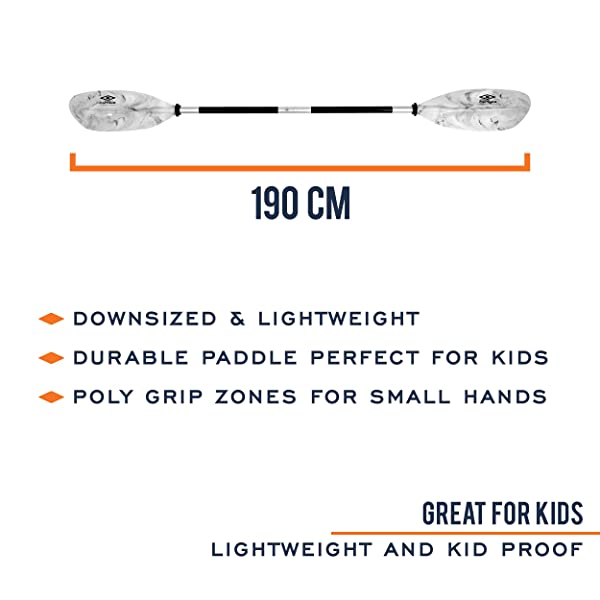 Carlisle Kids Saber Touring Kayak Paddle Review