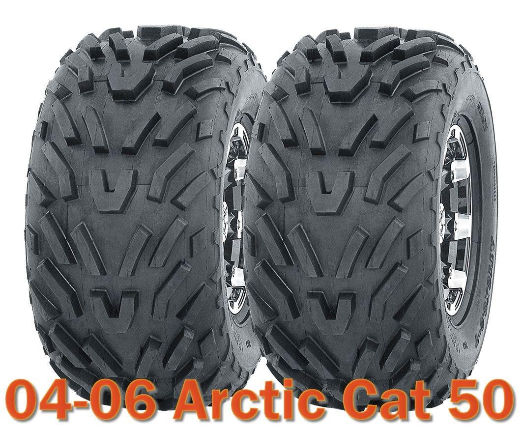 2004-2007 Polaris Predator 90 Sport ATV tires 19x7-8 19x7x8 /& 18x9.5-8 18x9.5x8