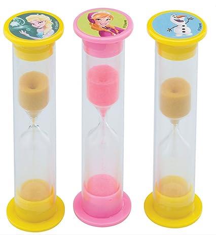 amazon com disney frozen kids sand hourglass 2 minute visual aid
