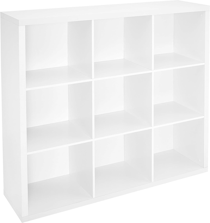 ClosetMaid White 9 Cube Storage