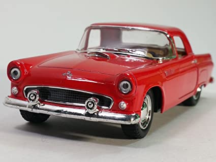 Kinsmart Red 1955 Ford Thunderbird Hard Top T Bird 1 36 Scale