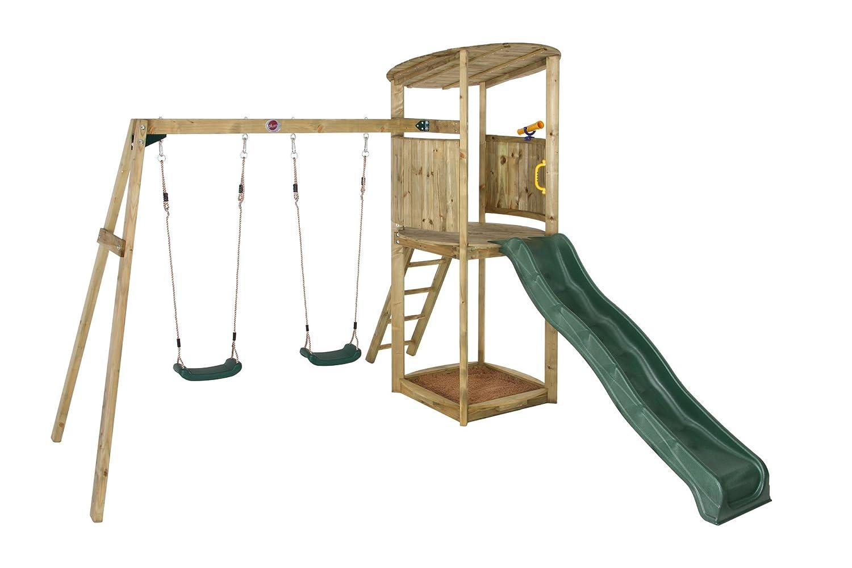 Klettergerüst Legler : Pflaume bonobo ii holz klettergerüst: amazon.de: spielzeug