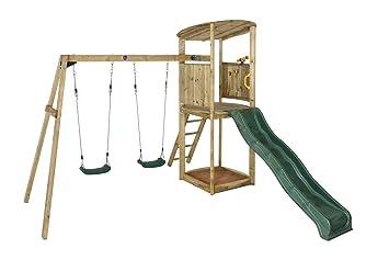 Plum Klettergerüst : Pflaume bonobo ii holz klettergerüst amazon spielzeug
