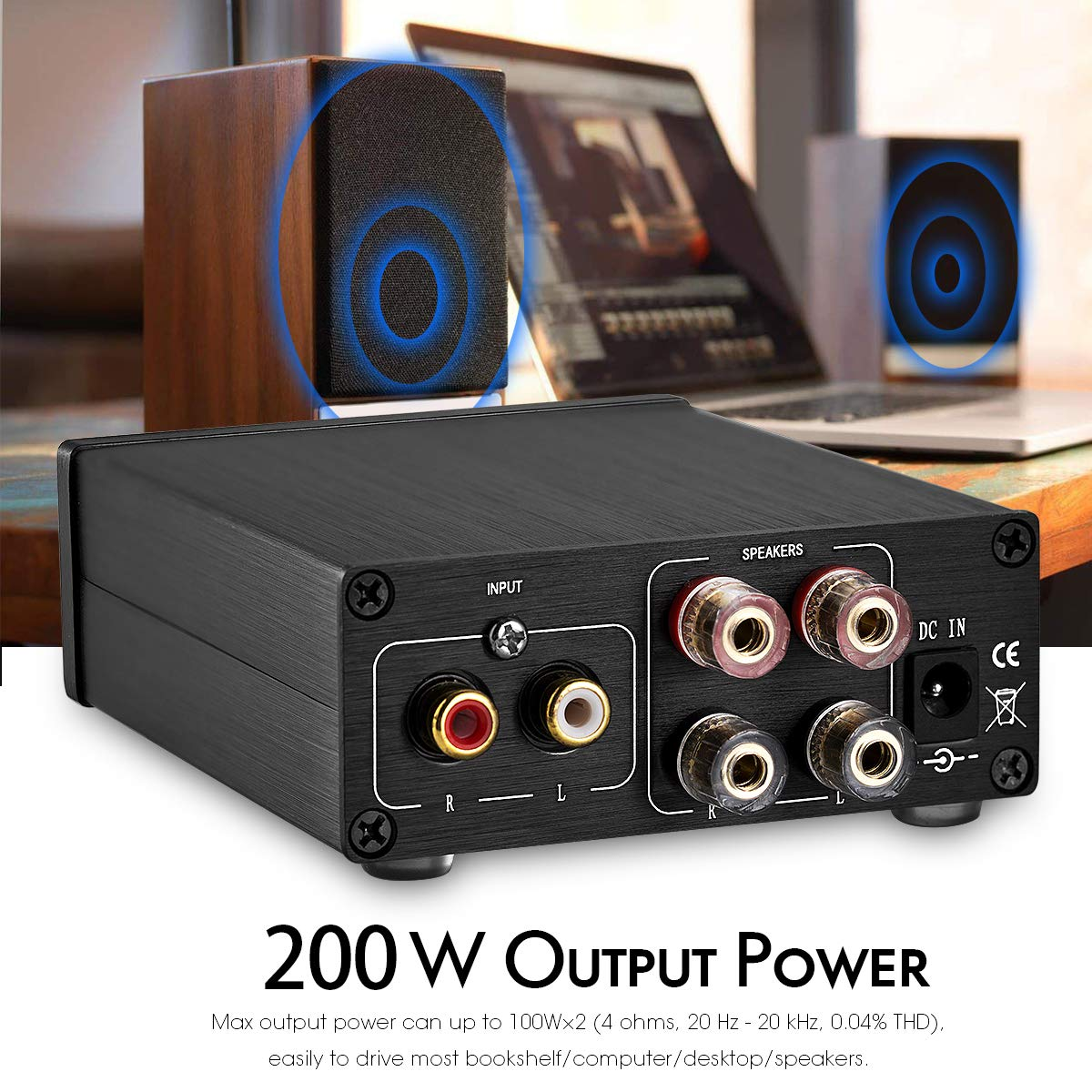 Black Nobsound USB DAC Digital to Analog Converter HiFi Audio Decoder Headphone Amp 24Bit//192K