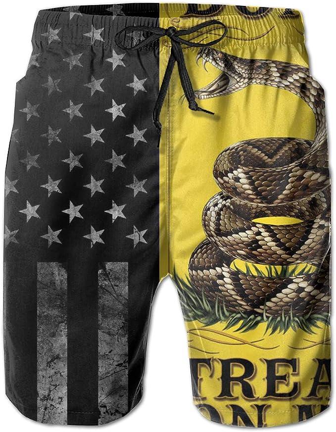 Mens Shorts Trunk Summer Pockets American Flag Swim Beach Athletic Quick Dry Beachwear Boardshort