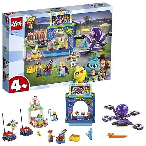 LEGO 4+ Buzz y Woody: Locos por la Feria, Set de Construcción con