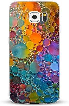 JEPER Funda Galaxy S6/S6 Edge/S6 Edge Plus/S7/S7 Edge Carcasa Silicona Transparent Protector TPU Ultra-Delgado Anti-Arañazos Mármol Case Teléfono Galaxy Funda (Samsung Galaxy S6, Mármol 07): Amazon.es: Electrónica