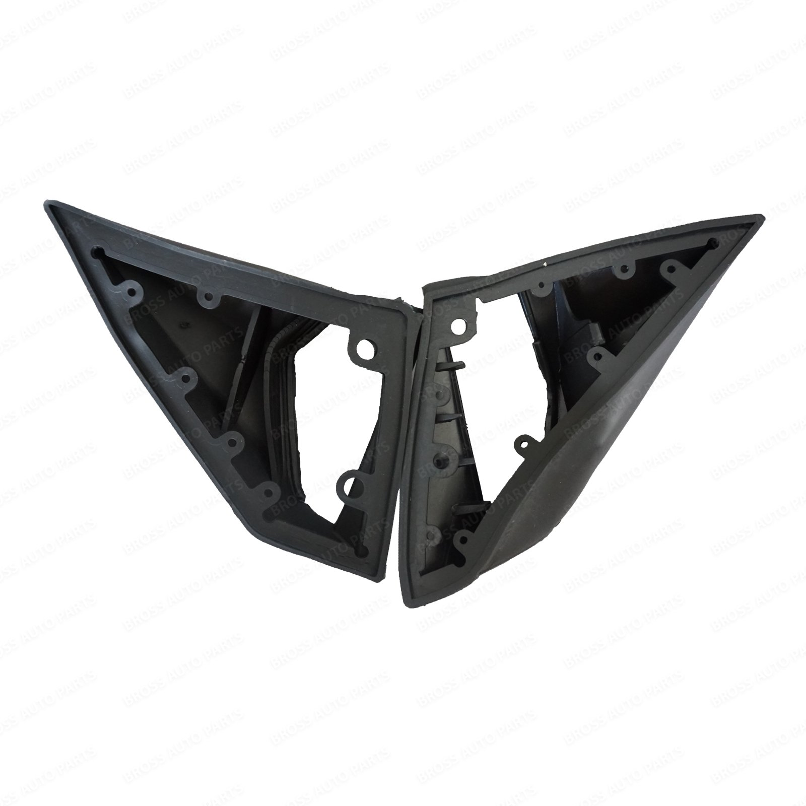 BSP846 Exterior Mirror Rubber Seals L+R Pads LHD A1248107716 LHD for Mercedes Benz W201 W124