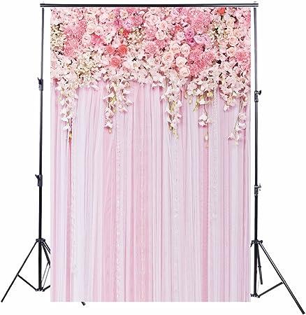Rosa Blumenfoto Hintergrund Des Valentinsgrußes Konpon Kamera