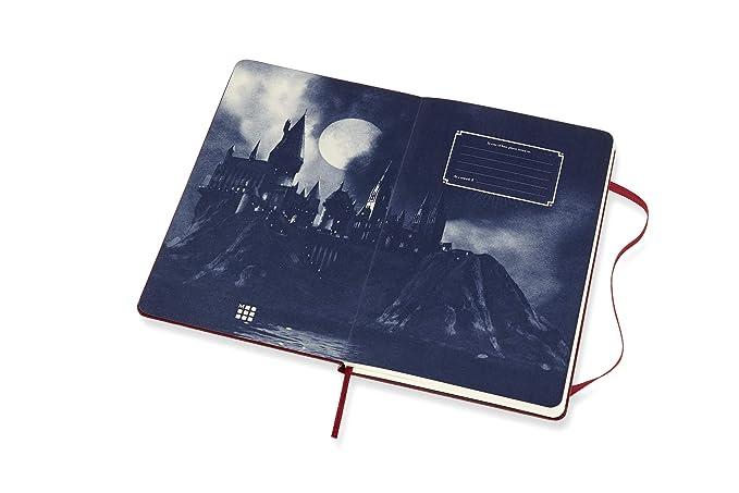 Amazon.com: Moleskine Ltd. Cuaderno de edición Harry Potter ...