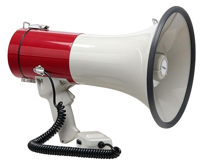 1 opinioni per McGrey MP-500HS Megafono, max. 80 Watt, 1000m