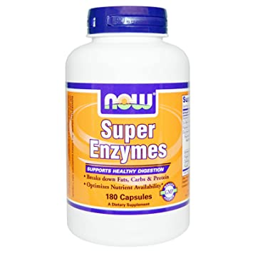 Amazon.com: NOW Foods Super Enzymes, 180 Capsules: Health ...