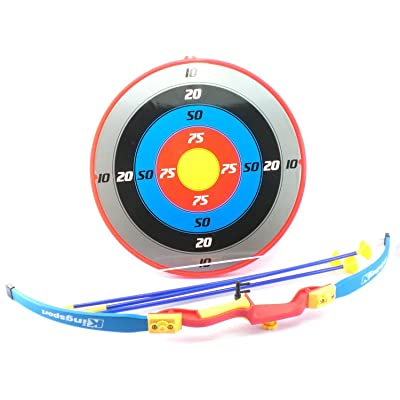 Hammond toys Toy Bow and Arrow Set with Suction Cup Arrows and Target Archery: Toys & Games
