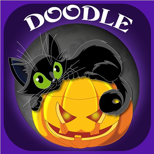 Halloween Kids Doodle -