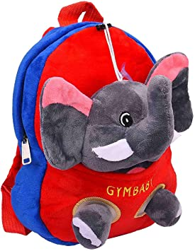 APPU Plush Bag - 2 in 1 Bag Includes Toy and Backpack (Red and Blue in Colour)