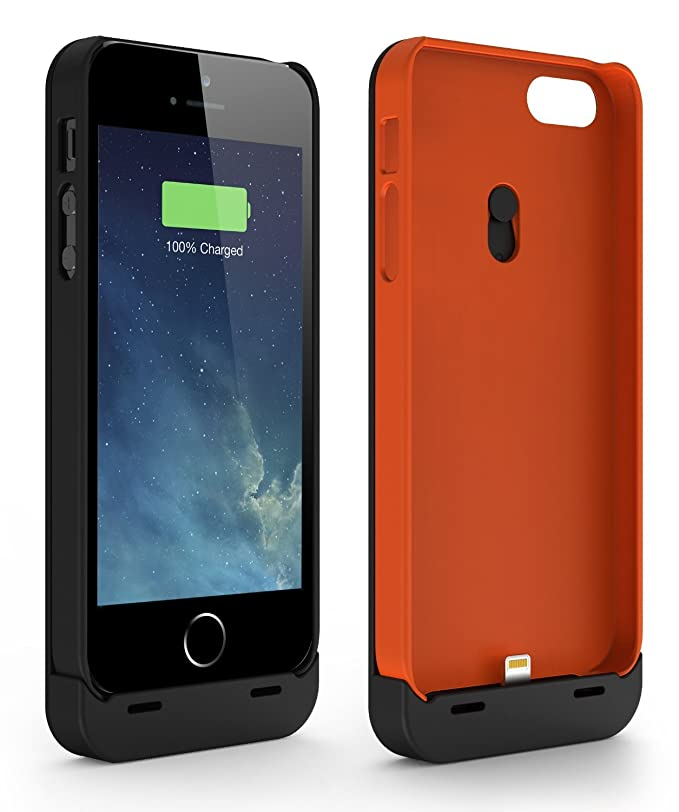 Amazon.com: jackery Leaf Premium iPhone 5S Funda Cargador ...