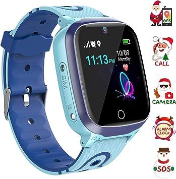 Relojes para Niños GPS - WiFi + GPS Tracker Smart Watch IP67 ...