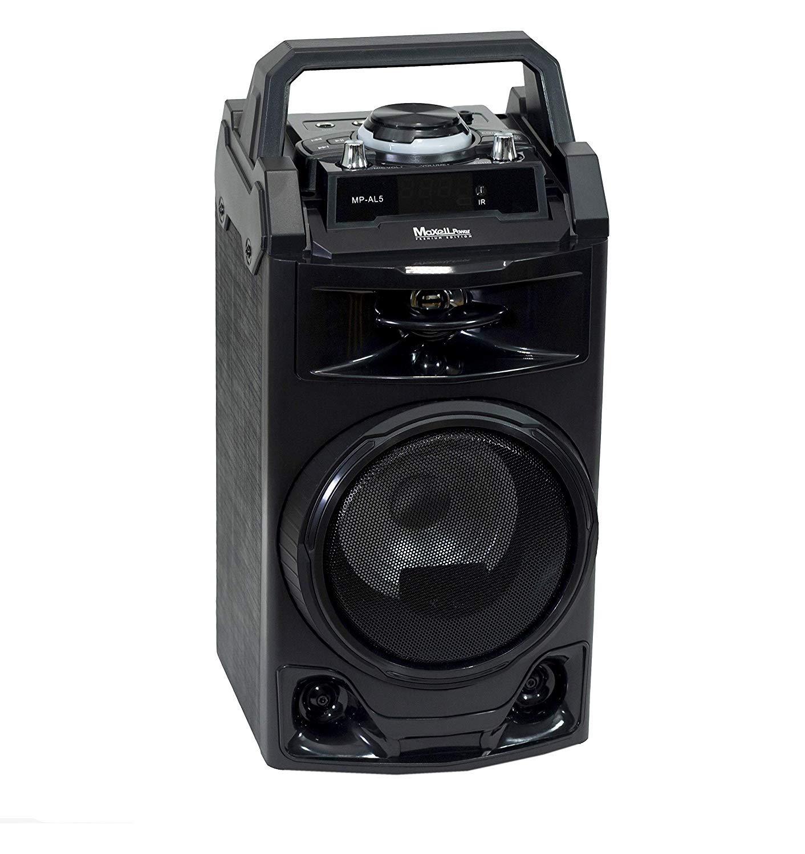 COVVY Radio Port/átil Am FM Onda Corta Soporte Tarjeta SD Disco USB Entrada AUX Reproductor de MP3 Altavoz Bot/ón Grande Pantalla LCD Bater/ía Recargable Blue