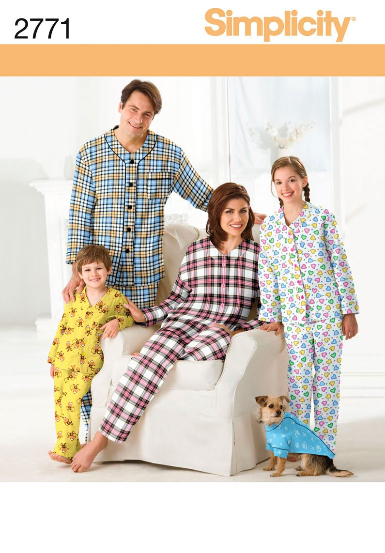 Simplicity Pajama Patterns Awesome Design