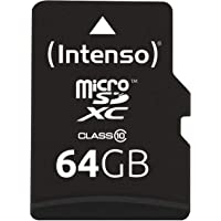 Intenso Micro SDXC 64GB Class 10 geheugenkaart incl. SD-adapter