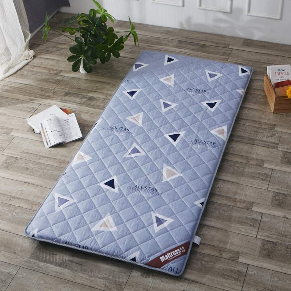 G 150x200cm(59x79inch) Breathable Mattress Mat Topper Pad, Foldable Sleeping Bed Pad Tatami Bed Roll Floor Mat Japanese for Dorm Home -c 180x200cm(71x79inch)