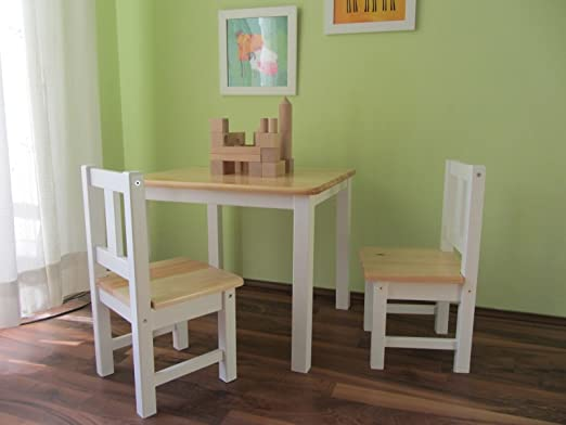 Best Of Jam Kindersitzgruppe Kindermöbel Sitzgruppe Kindertisch Natur Weiss Massivholz