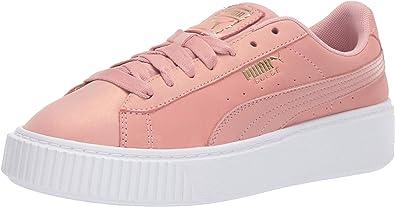 PUMA Women's Platform Shimmer Sneaker