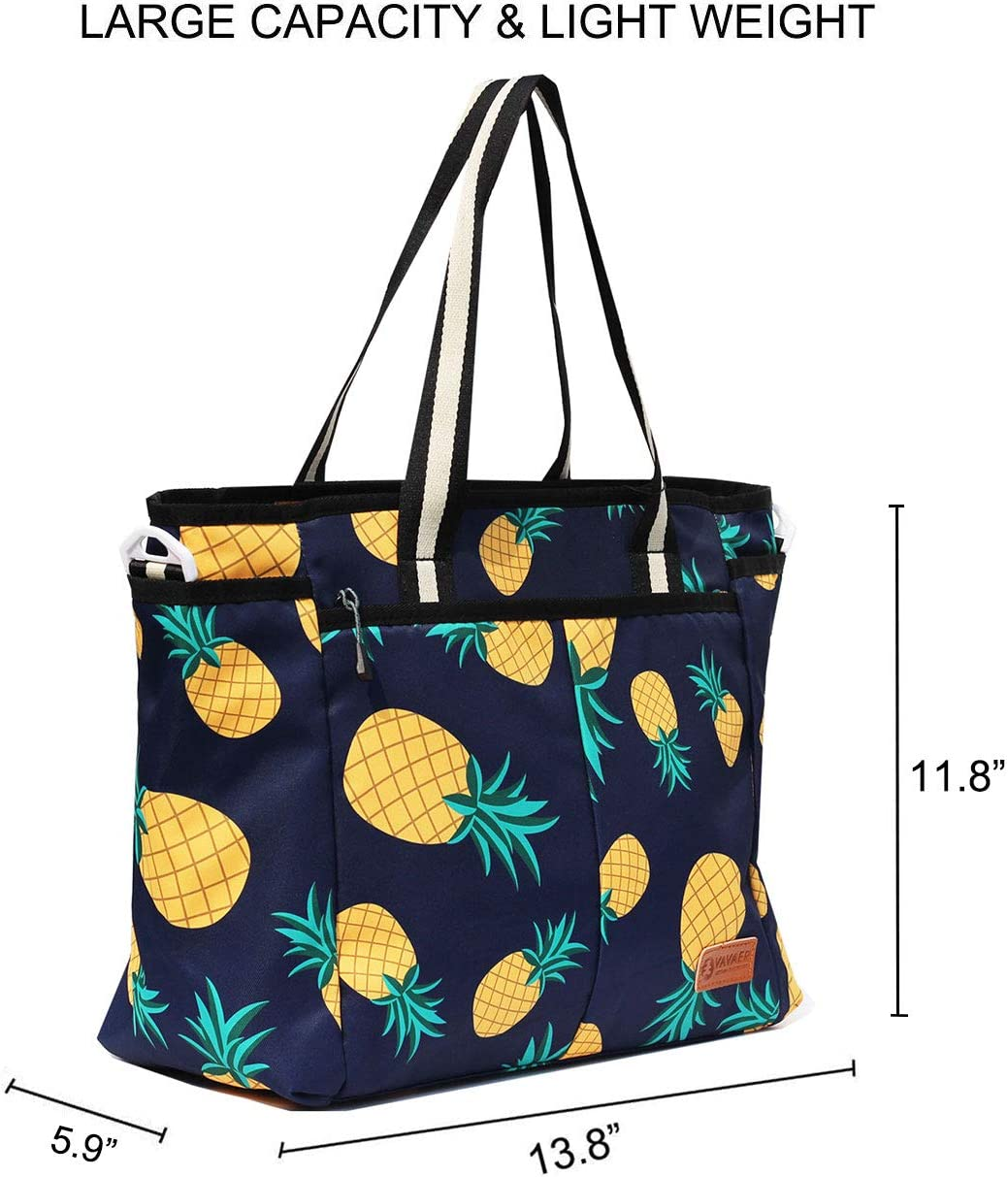 Happy-pineapple Travel Carry-on Luggage Weekender Bag Overnight Tote Flight Duffel In Trolley Handle