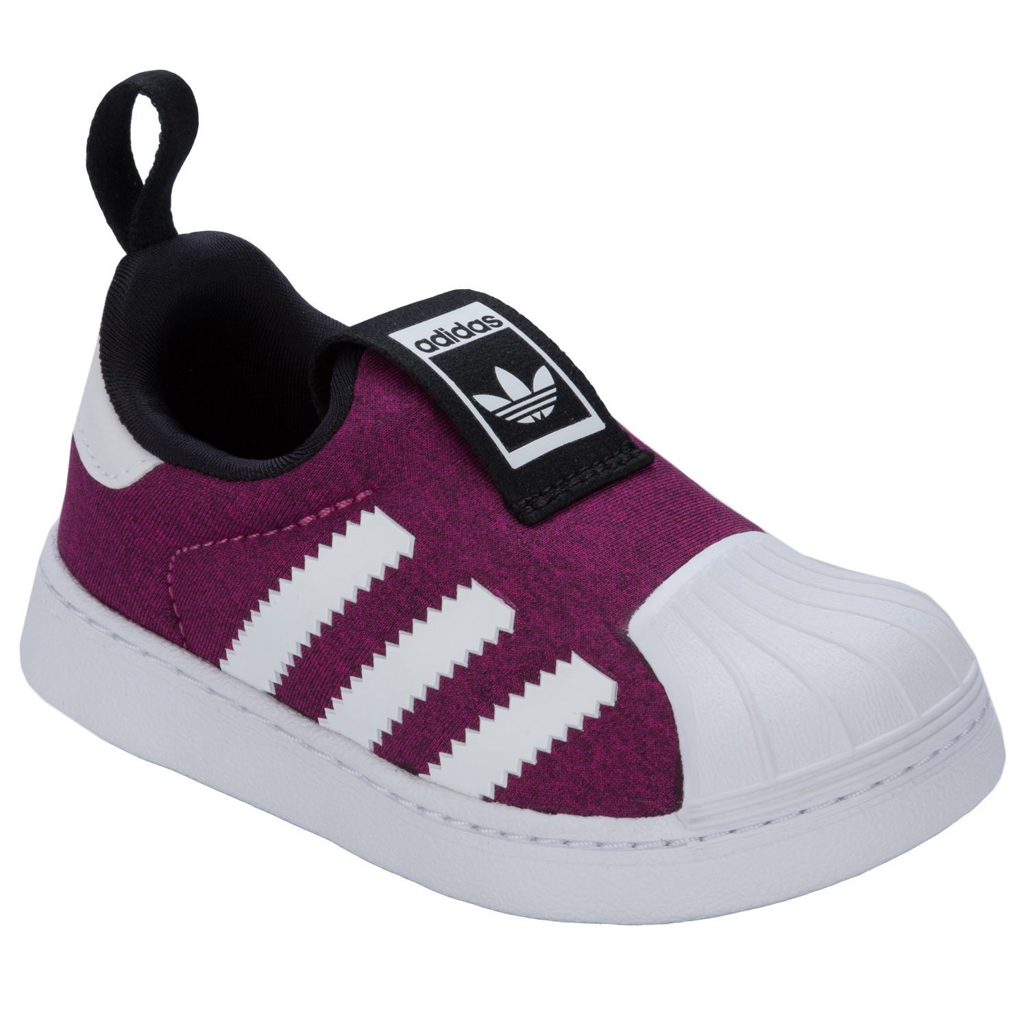 f89e4abf3083 adidas Girls Originals Infant Superstar 360 Trainers in Plum - 6.5 Infant   Amazon.co.uk  Shoes   Bags