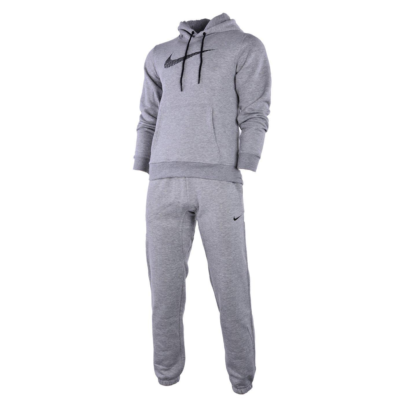 Nike Negro De Hombre 679387 Chándal Completo - Gris, Large: Amazon ...