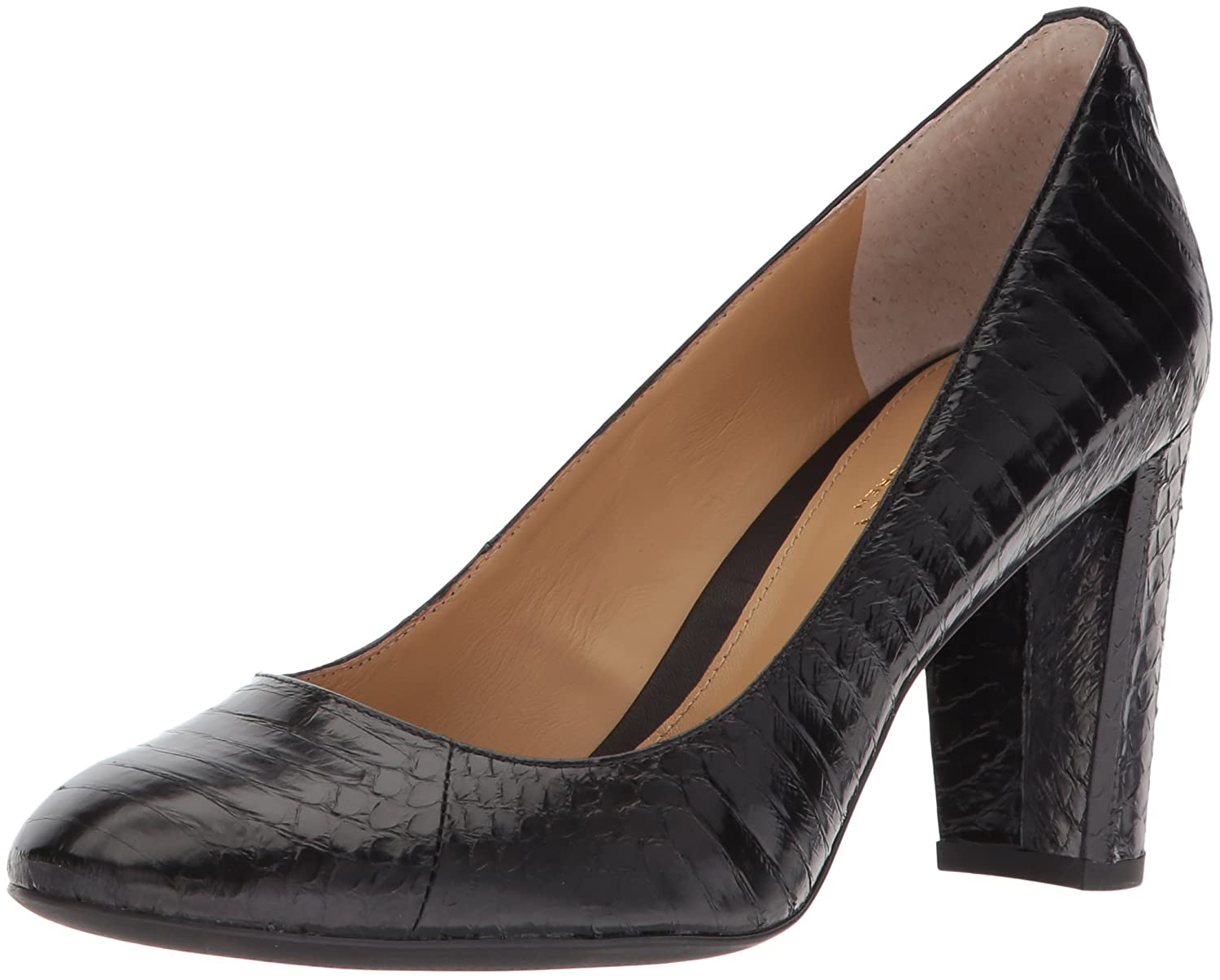 Lauren by Ralph Lauren Women's Maddie Pump B076D3QR8M 7 B(M) US|Black-1