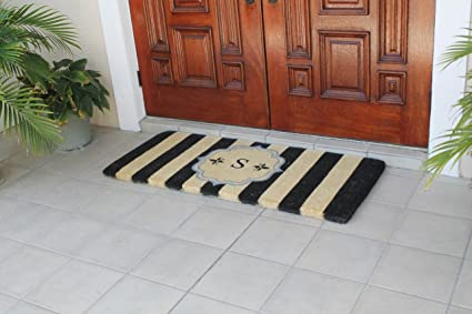 First Impression Haywood Monogrammed Entry Double Doormat A1HOME200105 S