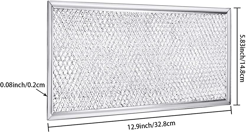 Amazon.com: Filtro de microondas Jetec W10208631A para ...