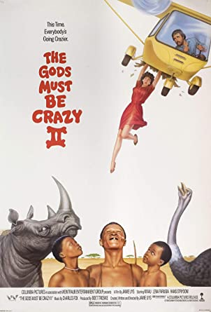 The Gods Must Be Crazy II 1990 U.S. One Sheet Poster at Amazon s ... b6e155a79