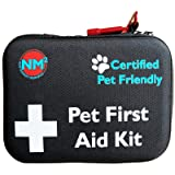 Pet First Aid Kit for Dogs & Cats | 45 Piece First Aid Bag for Pets, Animals | Perfect for Travel Emergencies with Pet…