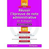 Réussir l'épreuve de note administrative en 8 étapes