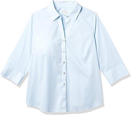 Foxcroft Mary Non Iron Stretch Blouse Camisa de Vestir para ...