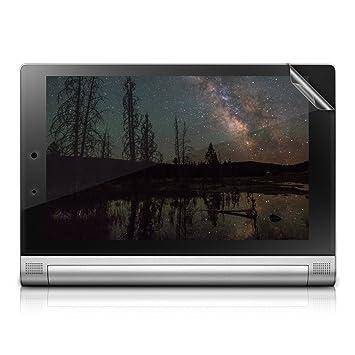 kwmobile Protector de pantalla para Lenovo Yoga Tablet 2 10 (1050) - Salvapantallas transparente de tablet - Plástico protector de tablets