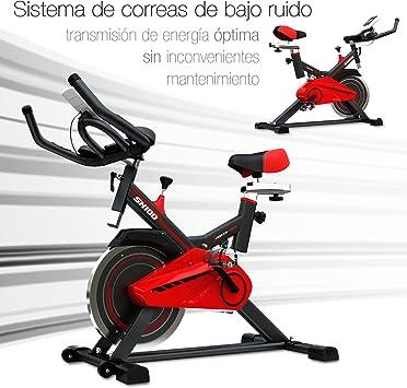 Sportstech SX100 Bicicleta estática con Volante de inercia 13kg ...