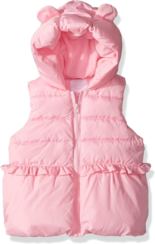 Gymboree Girls Toddler Hooded Furry Vest
