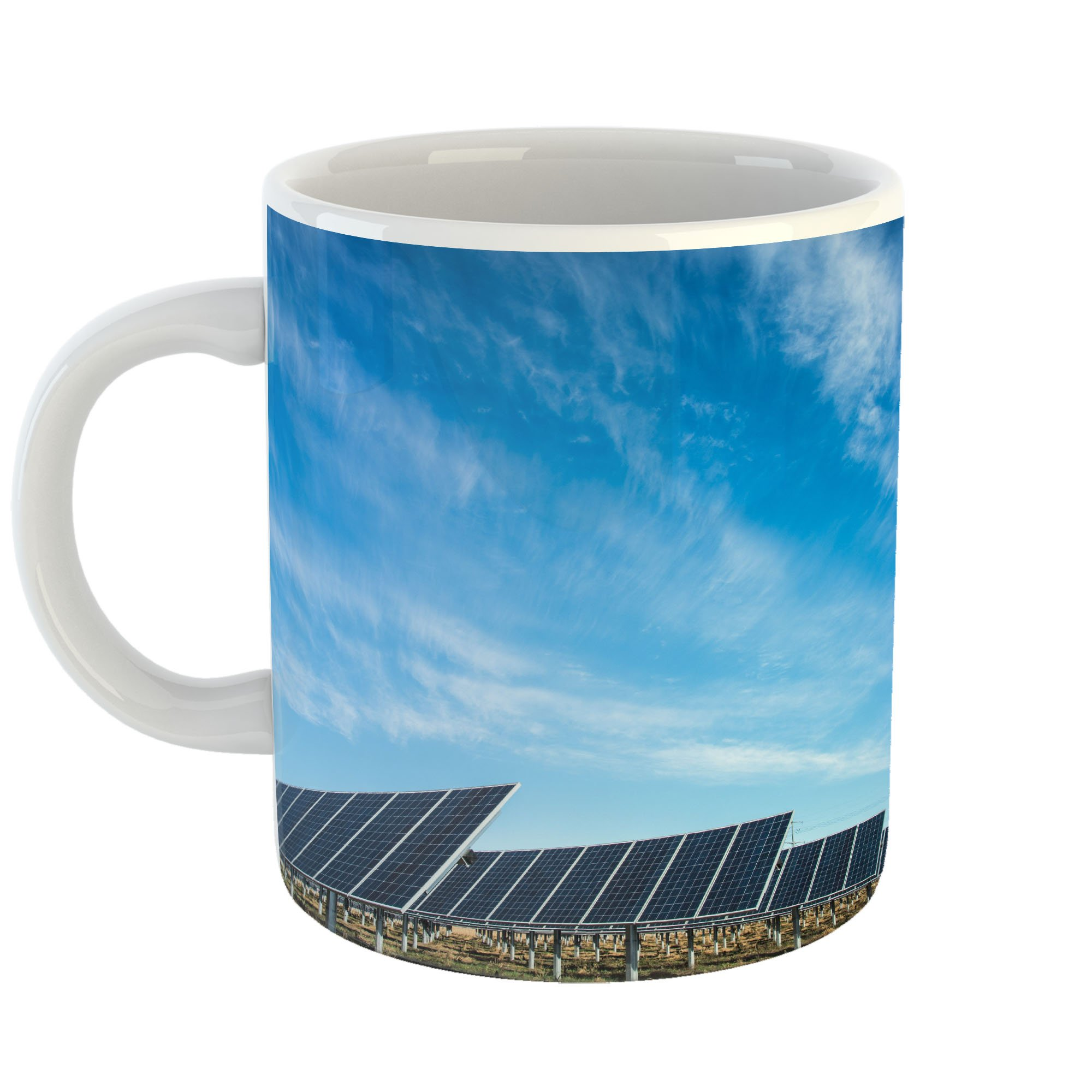 Westlake Art - Panel Solar - 11oz Coffee Cup Mug - Modern Picture Photography Artwork Home Office Birthday Gift - 11 Ounce (36CE-FBA24)