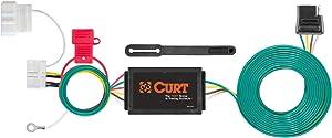 CURT 56378 Vehicle-Side Custom 4-Pin Trailer Wiring Harness, Select Honda Odyssey