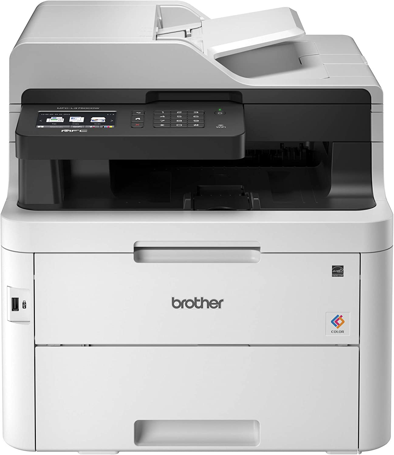 Brother MFC-L3750CDW Digital Color All-in-One Printer, Laser Printer Quality, Wireless Printing, Duplex Printing,  Dash Replenishment Ready: Electronics