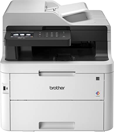 Brother MFC-L3750CDW Digital Color All-in-One Printer, Laser Printer Quality
