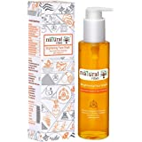 Natural Vibes ~ Ayurvedic Vitamin C Brightening Face Wash 120 ml ~ Deep cleanses your pores, fights sun damage, lightens pigm
