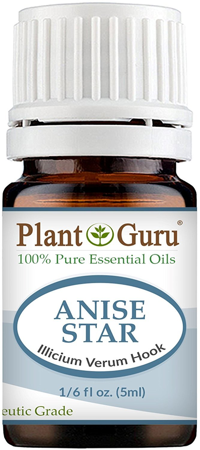 Anise Star Essential Oil. 5 ml. 100% Pure, Undiluted, Therapeutic Grade. Sample Size by Plant Guru B011JNN9J0