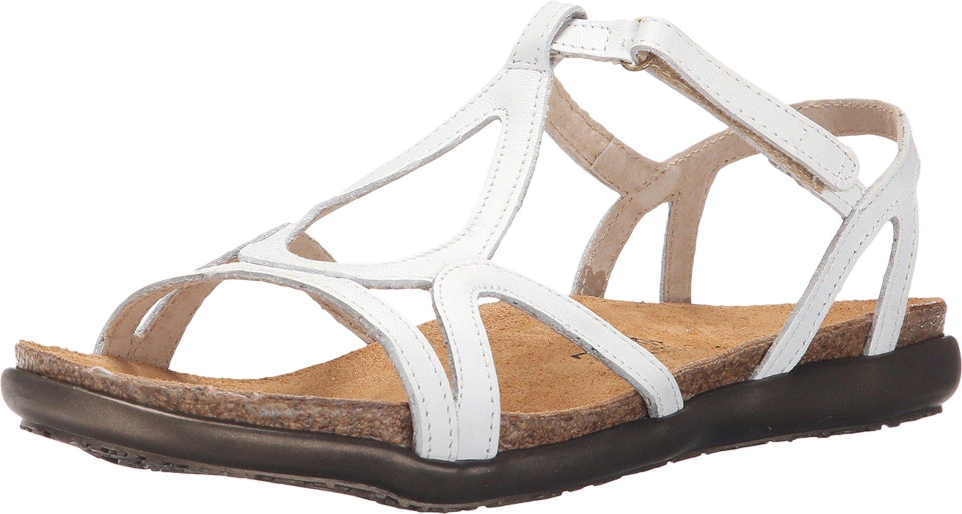 Naot Women's White Leather Dorith 42 M EU
