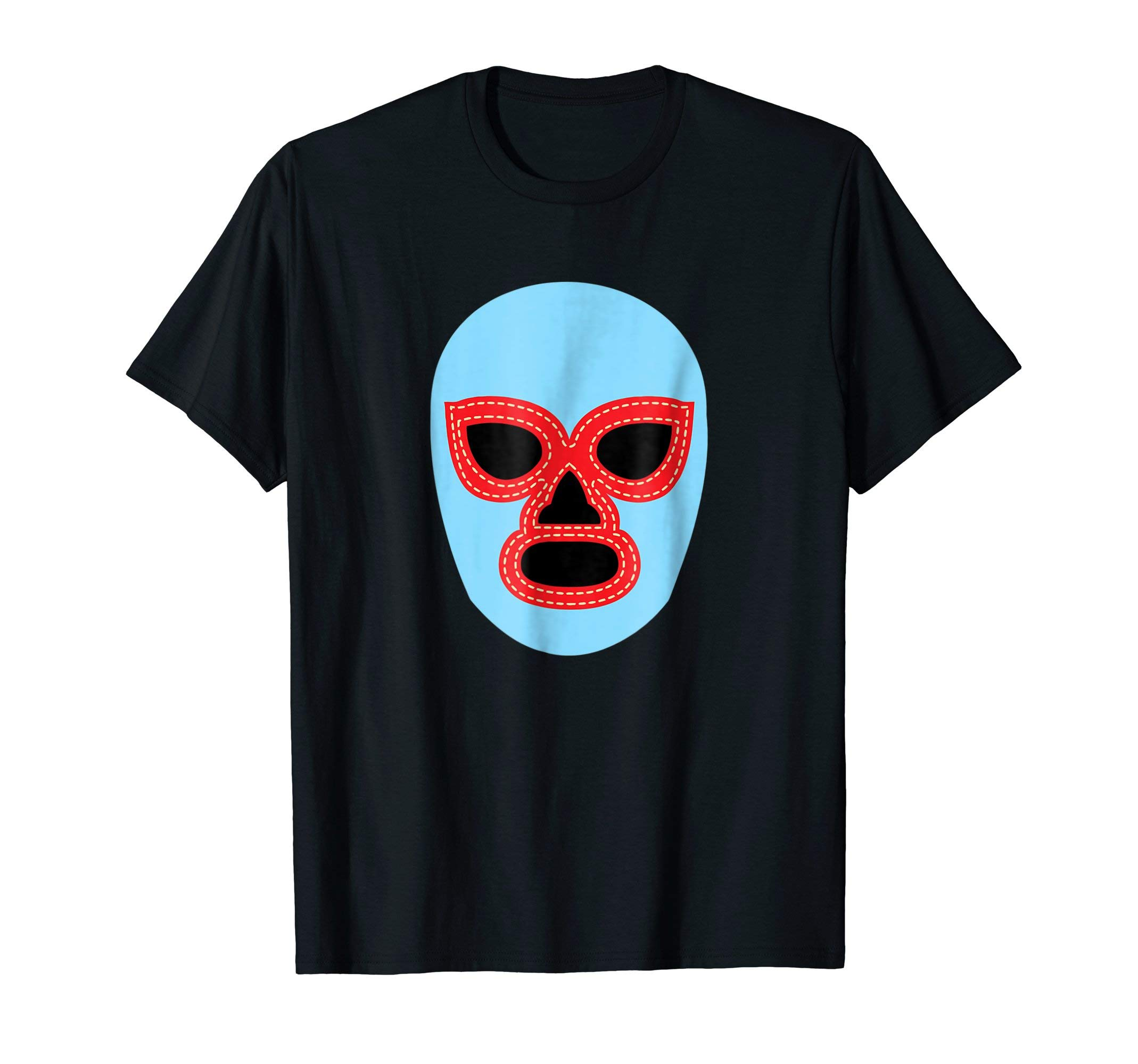 Luchador Wrestler Mask T Shirt Lucha Libre Wrestling Tee by Mexican Luchador Gifts Shirts
