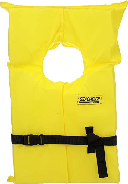 Marine Boat Safety Type II Adult Life Jacket Vest Preserver 86020